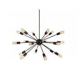 Lampa wisząca AZzardo Orbit Black 40446-18BK