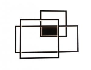 Geometric kinkiet czarny W0233 MAXlight