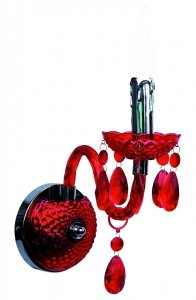 Maria Teresa - kinkiet czerwony R2507-10