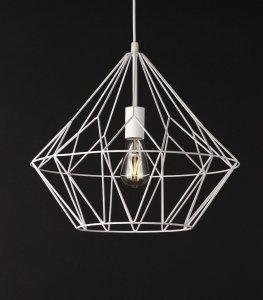 BELL II lampa wisząca duża BIAŁA P0212 MAXlight