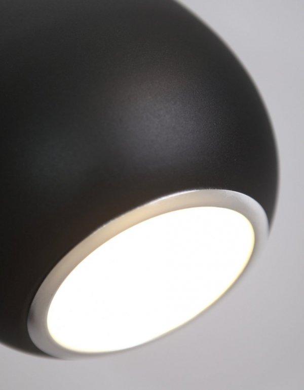 DROP lampa wisząca czarna P0233 MAXlight