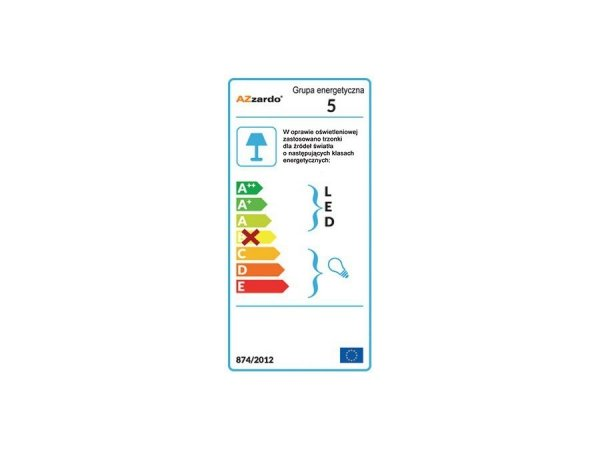 Lampa techniczna STAN 1 Aluminium AZzardo GM2111 ALU