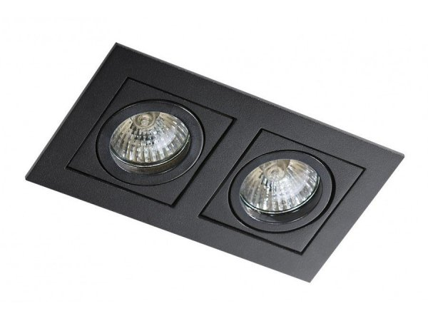 Lampa techniczna Paco 2 Black AZzardo GM2201 BK