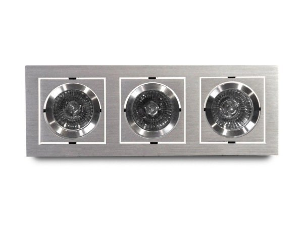 Lampa techniczna SIRO 3 Aluminium AZzardo GM2300 ALU