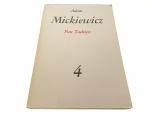DZIEŁA POETYCKIE 4 PAN TADEUSZ - Mickiewicz 1983