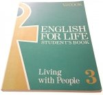 ENGLISH FOR LIFE. STUDENT'S BOOK 3 - VJ Cook 1989