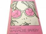 WARIACKIE PAPIERY - Ryszard Lassota (1982)