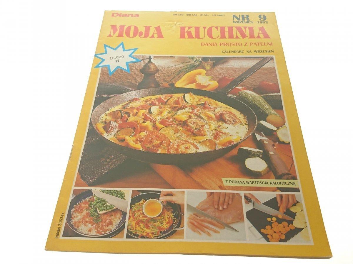 Moja Kuchnia Nr 9 Wrzesień 1993 Dania Prosto