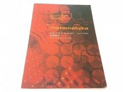 MATEMATYKA. PODRĘCZNIK DO LICEÓW KLASA II 2003