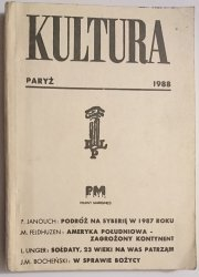 KULTURA PARYŻ MARZEC 1988