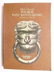 POLSKIE PASY  KONTUSZOWE - Maria Taszycka 1985