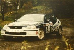 RAJD WRC 2005 ZDJĘCIE NUMER #323 HONDA CIVIC