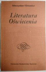 LITERATURA OŚWIECENIA - Mieczysław Klimowicz 1990