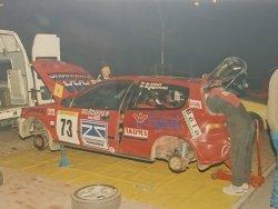 RAJD WRC 2005 ZDJĘCIE NUMER #306 HONDA CIVIC