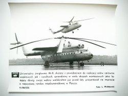 KRONIKA WAF 15/86 (522) UNIWERSALNY ŚMIGŁOWIEC Mi-6 FOT. WRÓBLEWSKI