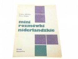 MINI ROZMÓWKI NIDERLANDZKIE - Lisetta Stembor 1984