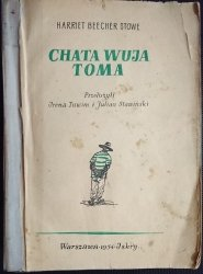 CHATA WUJA TOMA - Harriet Beecher Stowe 1954