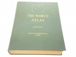 THE WORLD ATLAS. INDEX OF GEOGRAPHICAL NAMES 1968