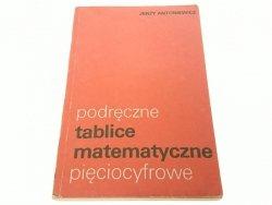 PODRĘCZNE TABLICE MATEMATYCZNE