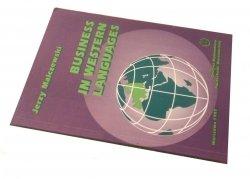 BUSINESS IN WESTERN LANGUAGES - Jerzy Malczewski