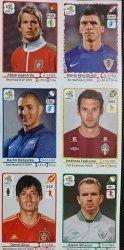 EURO 2012 NAKLEJKI NUMERY: 391 262 432 480 354 302