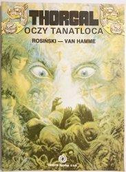 THORGAL. OCZY TANATLOCA - Rosiński, Van Hamme 1989