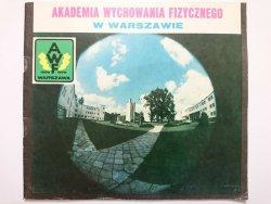 AKADEMIA WYCHOWANIA FIZYCZNEGO W WARSZAWIE - Maria Rotkiewicz, Krzysztof Wybraniec 1979