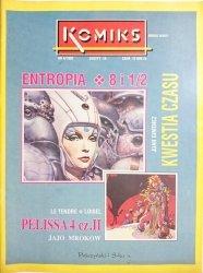 KOMIKS NR 4/1992 ZESZYT 16 ENTROPIA 8 i 1/2