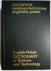 SŁOWNIK NAUKOWO-TECHNICZNY ANGIELSKO-POLSKI 1986