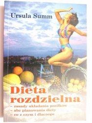 DIETA ROZDZIELNA - Ursula Summ 2003