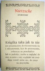 AFORYZMY - Nietzsche 1978