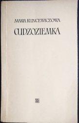 CUDZOZIEMKA - Maria Kuncewiczowa 1957