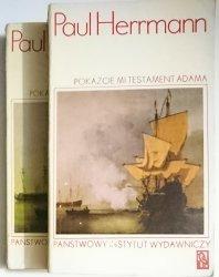 POKAŻCIE MI TESTAMENT ADAMA TOM I i II - Hermann