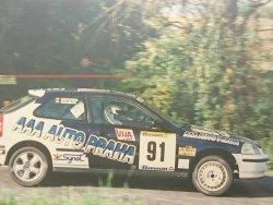 RAJD WRC 2005 ZDJĘCIE NUMER #022 HONDA CIVIC