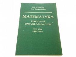 MATEMATYKA 5 i 6 PORADNIK ENCYKLOPEDYCZNY (1986)