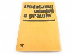 PODSTAWY WIEDZY O PRAWIE - Red. Sokolewicz 1985