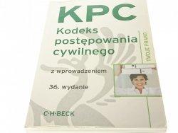 KPC KODEKS POSTĘPOWANIA CYWILNEGO 2012 36. WYDANIE