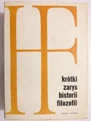 KRÓTKI ZARYS HISTORII FILOZOFII 1965