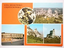 JURA KRAKOWSKO-CZĘSTOCHOWSKA. RUINY ZAMKU Z XVI w. FOT. RACZKOWSKI, ROSIKOŃ