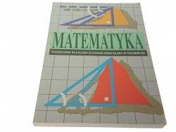 MATEMATYKA. PODRĘCZNIK DO 3 LO (Wydanie XII 1999)