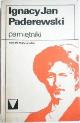 PAMIĘTNIKI - Ignacy Jan Paderewski 1982