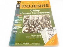 GAZETY WOJENNE NR 109 CHINY OFENSYWA KOMUNISTYCZNA