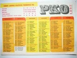 PKO 1967 KALENDARZYK