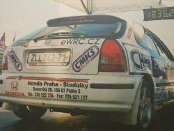 RAJD WRC 2005 ZDJĘCIE NUMER #308 HONDA CIVIC