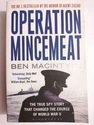 OPERATION MINCEMEAT - Ben Macintyre 2010