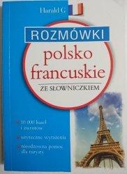 ROZMÓWKI POLSKO-FRANCUSKIE ZE SŁOWNICZKIEM 2016