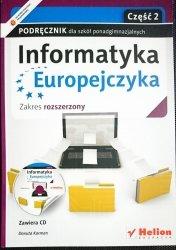 INFORMATYKA EUROPEJCZYKA. PODRĘCZNIK CZĘŚĆ 2 2013