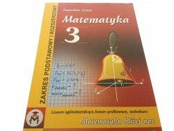 MATEMATYKA 3 - Stanisław Zieleń (2006)