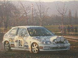 RAJD WRC 2005 ZDJĘCIE NUMER #300 HONDA CIVIC