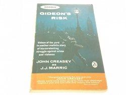 GIDEON'S RISK - John Creasey 1962